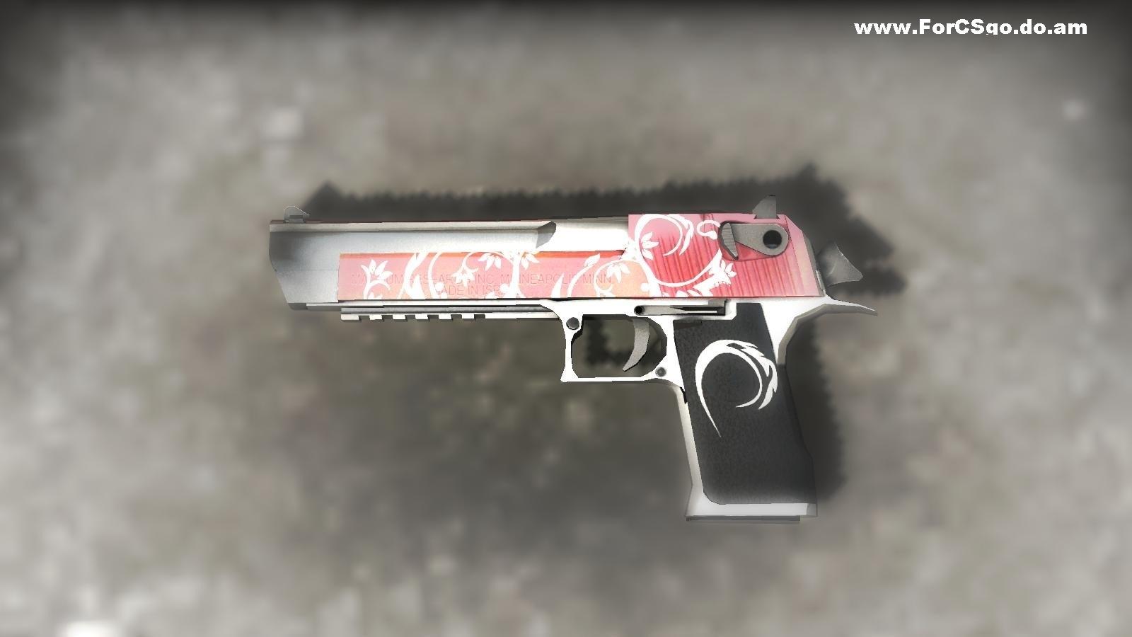 Модель оружия Red Deagle для CSGO