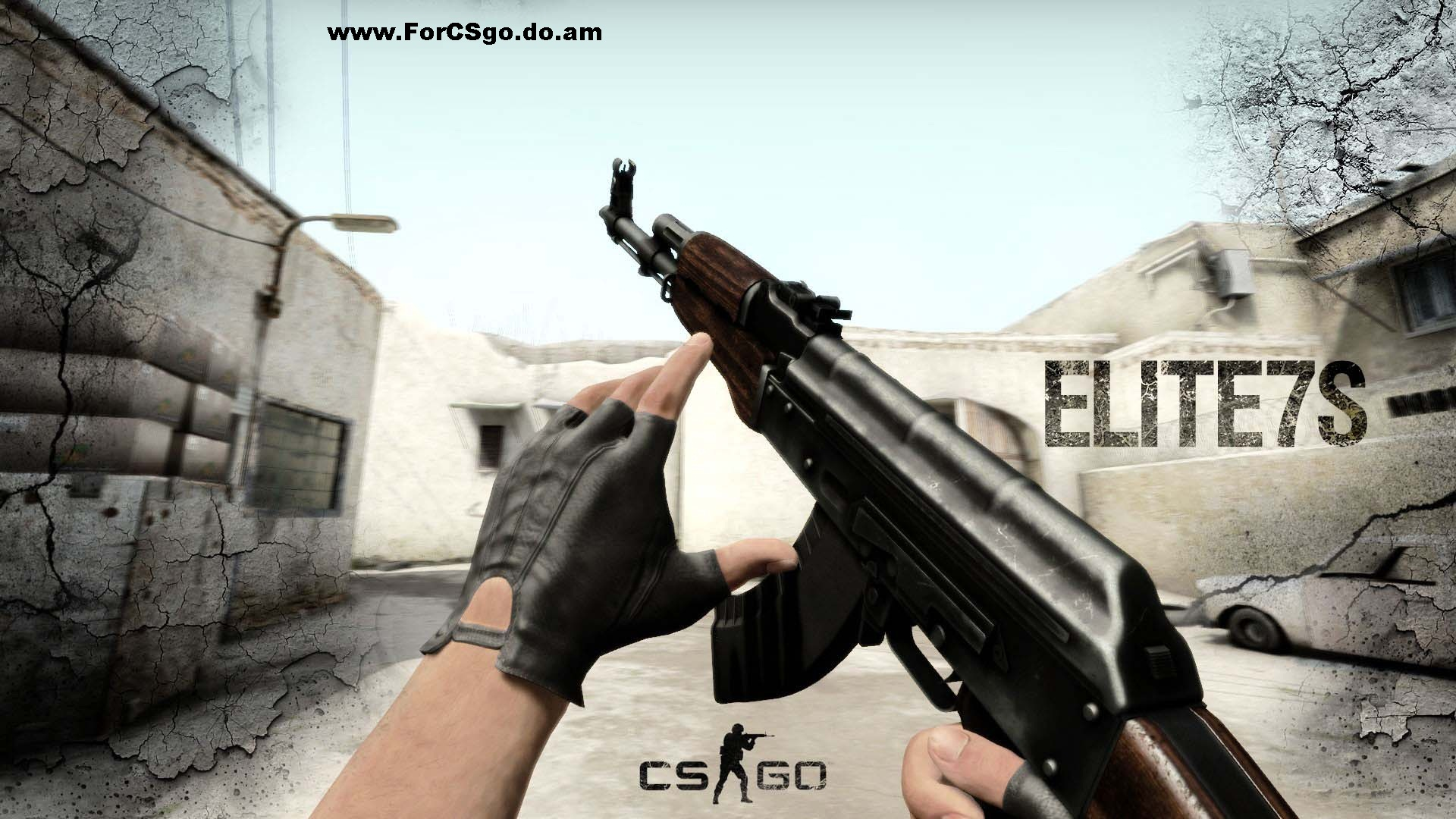 ELITE7S' AK47-DarkWood cs go
