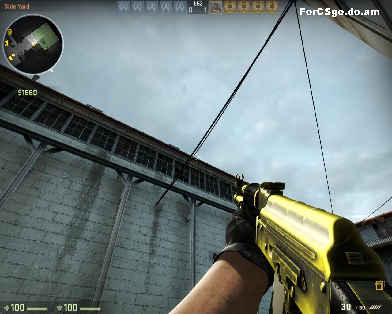 gold ak 47 cs go
