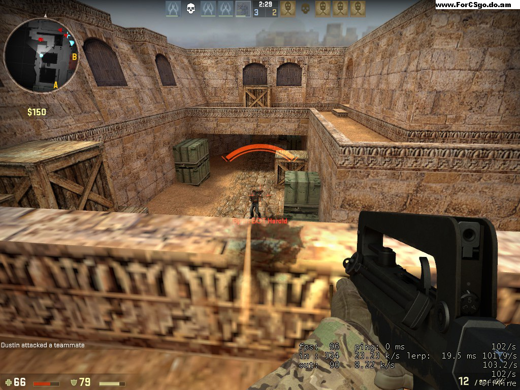 Карта Counter-Strike: Global Offensive de_dust